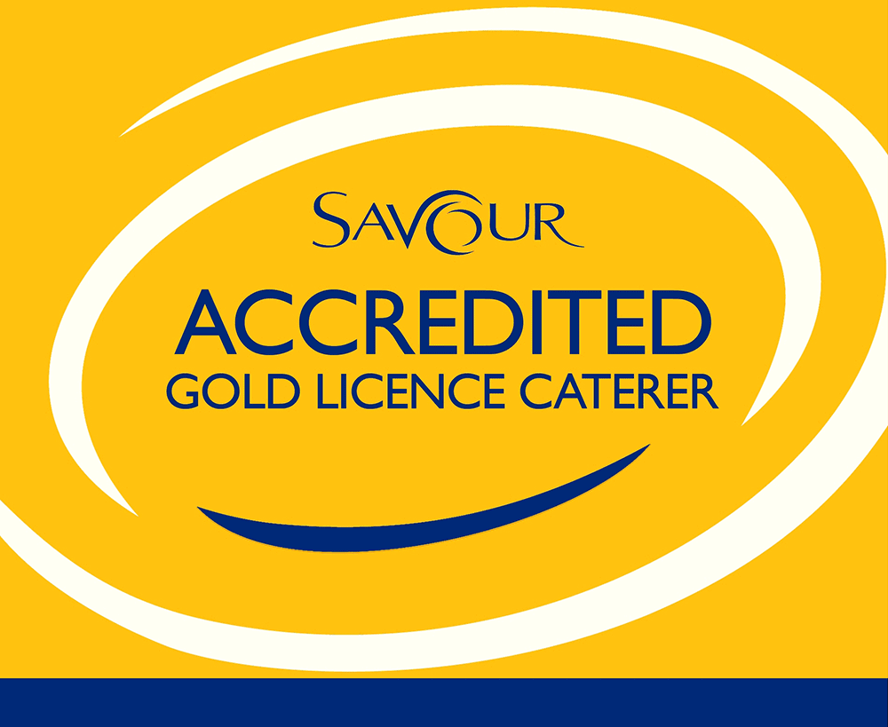 Savour Accredited Gold License Caterer